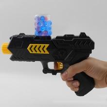 400pcs Colored Soft Bullet Gun Kids Toys Pistol Water Crystal Guns Safety Paintball Launcher Water Beads Grow Toy TSLM2 недорго, оригинальная цена