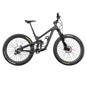 Image 4 - ICAN פופולרי 27.5er בתוספת MTB אופני השעיה מלא 150mm נסיעות אנדורו boost הרי אופניים 110*15/148*12mm סרן