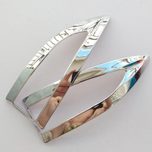 For Nissan Sylphy/Sentra PULSAR 2016 Teana L33 ALTIMA CHROME SIDE MIRROR COVER TRIM MOLDING CAP OVERLAY GARNISH ACCESSORIES