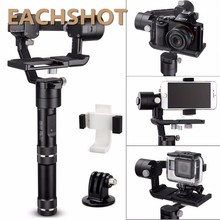 Zhiyun Crane M 3 axis Handheld Stabilizer Gimbal for Gopro 3 Xiaoyi gopro Hero 5 360 camera DSLR Camera Support 650g Smartphones
