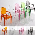 New 5pcs/set 1:6 Scale Doll House Dollhouse Miniature Armchair Furniture Chair For Children Dolls House Accessories Random Color
