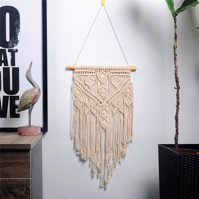 macrame wall hanging nordic  tapestry home decoration large tapestry bedroom home party wedding decoration gift for women men