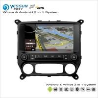 YESSUN For Chevrolet Silverado For GMC Sierra Car Android Multimedia Radio CD DVD Player GPS Navi Navigation Audio Video Stereo