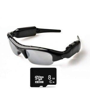Image 2 - Lightdow Mini Occhiali Da Sole Occhiali Digital Video Recorder Macchina Fotografica di Vetro Mini Videocamera Video Occhiali Da Sole DVR
