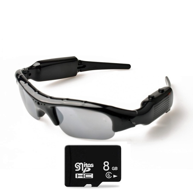Lightdow Mini Sun Glasses Eyewear Digital Video Recorder Glasses Camera Mini Camcorder Video Sunglasses DVR 1
