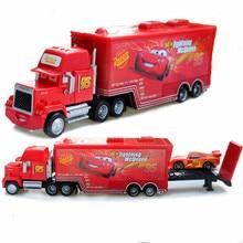 Disney Pixar Тачки 2 игрушки Молния Маккуин Mack грузовик король 1:55 литье под давлением металлический сплав Модель Фигурки игрушки подарки для детей