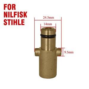 Image 5 - Nilfisk 용 roue 브랜드의 새로운 폼 랜스 nilfisk gerni stihle 압력 와셔 용 둥근 피팅 new type snow foam lance