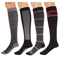 RioRiva 15-20mmHg Graduate Compression Sox Comfortable  Wome1 Pair Knee High Long blood circulation Sneaker socsn Socks