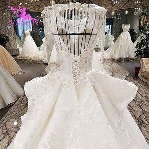 Image 2 - AIJINGYU متجر على الانترنت الزفاف فساتين الزفاف الفساتين الملابس جديد مع سعر القوطية الكرة مرحبا منخفضة ثوب فيتنام الزفاف اللباس