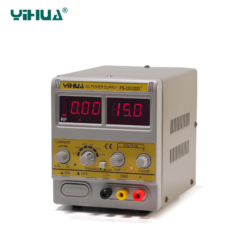 ФОТО YH 1502DD+ 220v Adjustable Variable Voltage DC Power Supply for Soldering Station