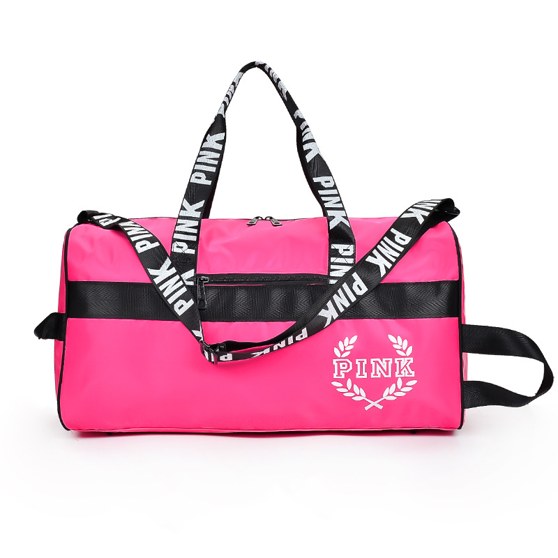 wholesale pink Letter Handbags Women VS Pink Purse Totes travel bag Duffle Beach Shoulde ...
