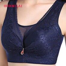 OUDOMILAI Large Size Bra bralette Push Up Bras For Women Underwear Lace Sexy Vest Bra Big Size lingerie Plus Brassiere C D Bh
