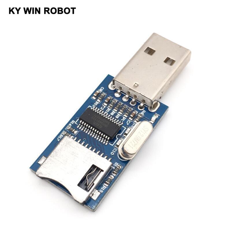 GL827 USB Interface MINI SD Card Mini SD Card Reader Module GL827L
