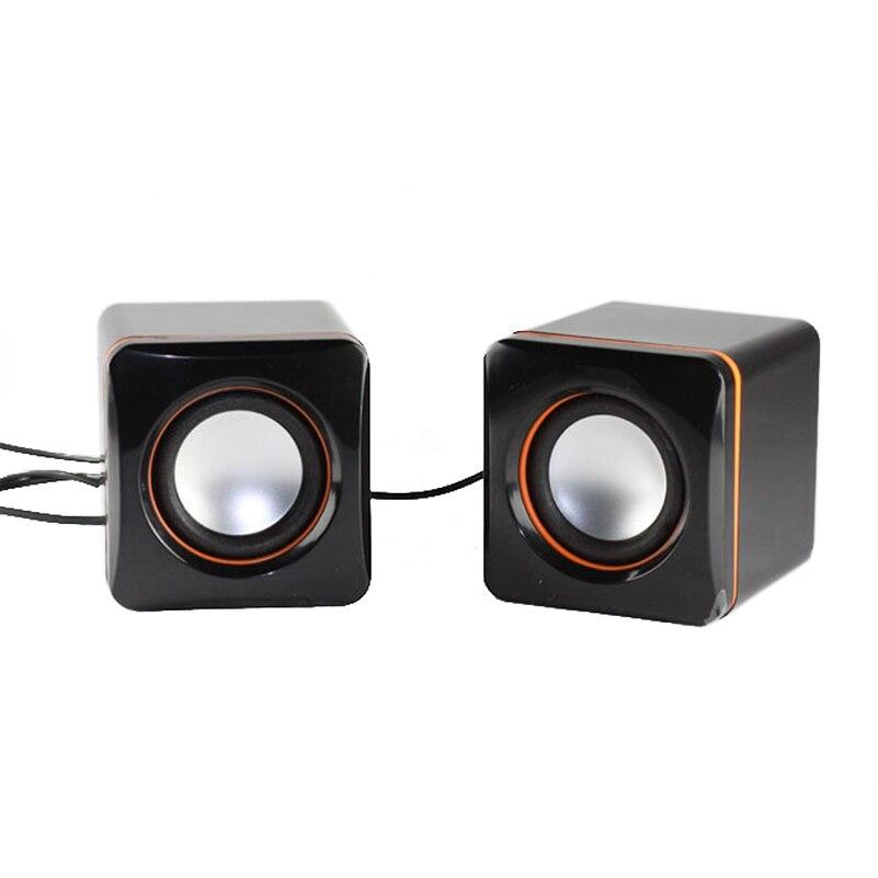 где купить 100% NEW Mini Portable Wired Tablet Computer USB Speaker Multimedia Stereo Sound Speakers for Laptops PC Phone 3.5MM дешево
