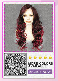 synthetic lace front wig 4