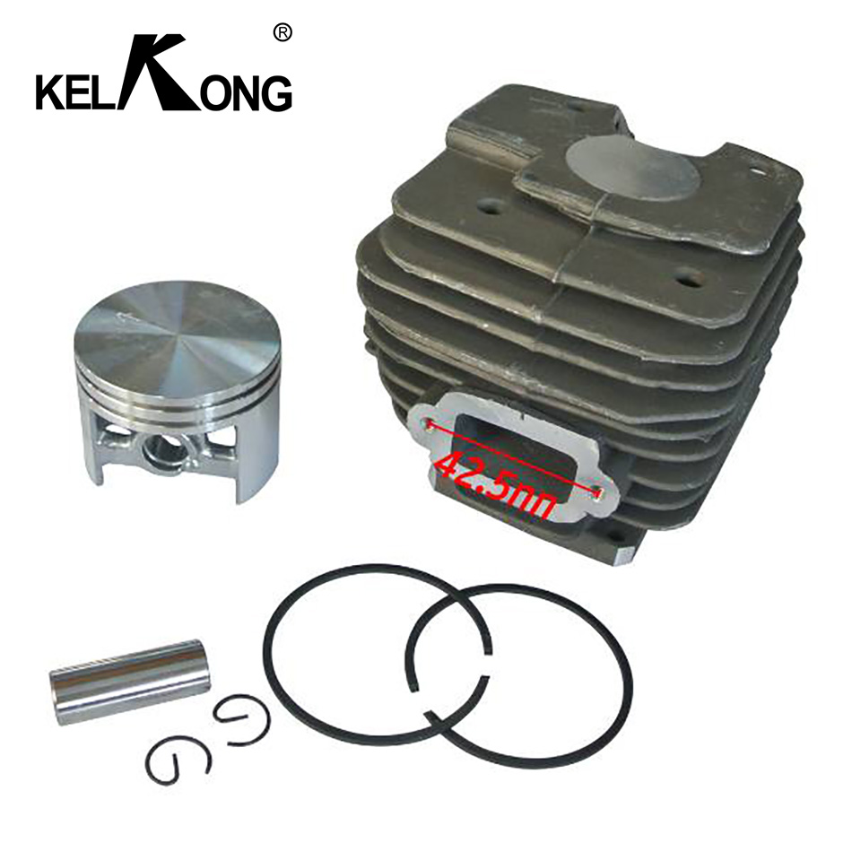 KELKONG Cylinder Piston 52mm Carb Kit For Stihl MS380 038 MS 380 Carburetor Chainsaw Replacement # 1119 020 1202 1119 020 1204KELKONG Cylinder Piston 52mm Carb Kit For Stihl MS380 038 MS 380 Carburetor Chainsaw Replacement # 1119 020 1202 1119 020 1204