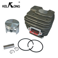 KELKONG Cylinder Piston 52mm Carb Kit For Stihl MS380 038 MS 380 Carburetor Chainsaw Replacement # 1119 020 1202 1119 020 1204