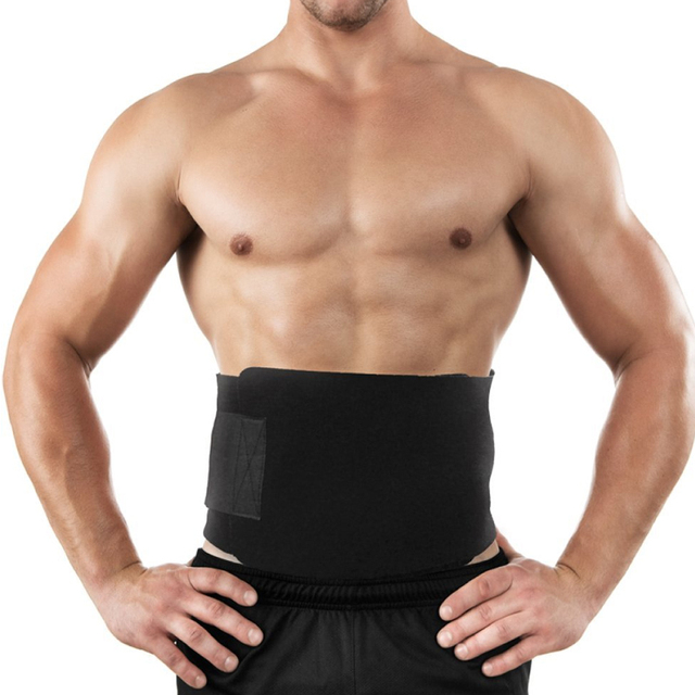 1Pcs Waist Trimmer Ab Belt, Weight Loss Waist Trainer- Best Abs accessories for Lower Back Support Stomach Back Lumbar Brace 4