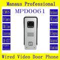 D61b Professional Smart Home Wired Magnetic Lock Waterproof Video door phone,Outdoor Monitor Intercom Door bell with HD Camera