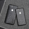 Nueva cocodrilo negro etiquetas engomadas del cuerpo completo para iphone 7 plus teléfono protector de la contraportada para iphone 6 6 s plus pegatinas TZ-k15
