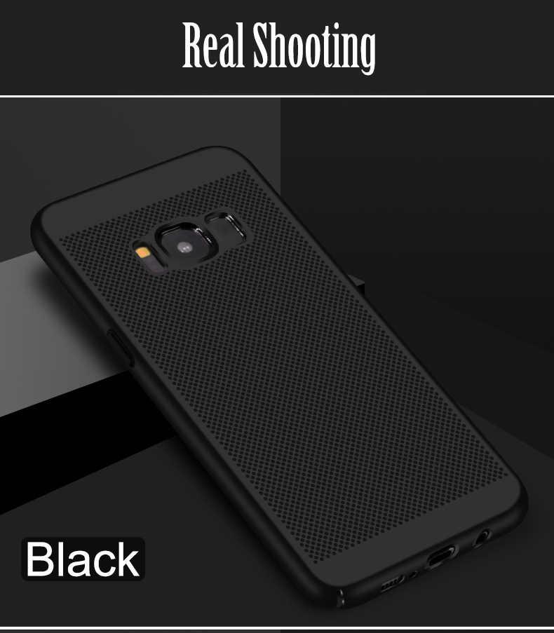 高品質電話ケース S5 ネオ S6 S7 エッジ S8 S9 プラスデュオ超薄型ハードプラスチックケース