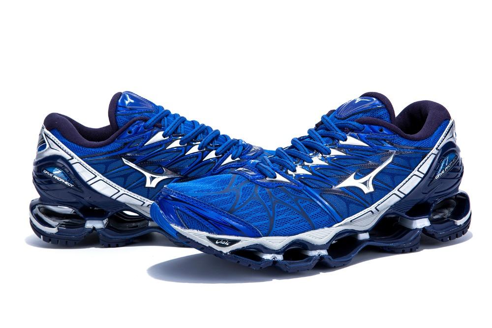 28e0bfaf5a Mizuno Wave Prophecy 7 Professional Men Shoes Breathable Mesh ...