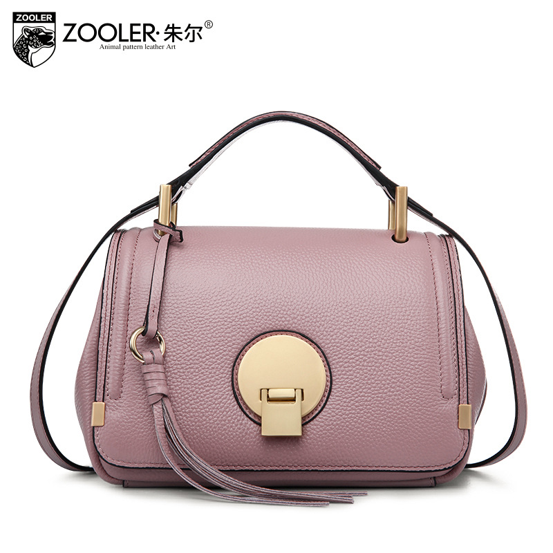 ZOOLER Fashion Handbag Women Small Genuine Leather Shopping Messenger Bags Handbags Women Famous Brands Lady Crossbody Tote Bag new trend 2016 zooler women genuine leather messenger bags vintage crossbody bag bags handbags women famous brands high quality