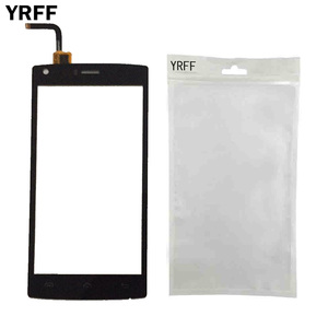 Image 3 - Mobile Phone Touch Screen For Doogee X5 Max / X5 Max Pro Touch Screen Glass Digitizer Panel Lens Sensor Free Protector Film Tape