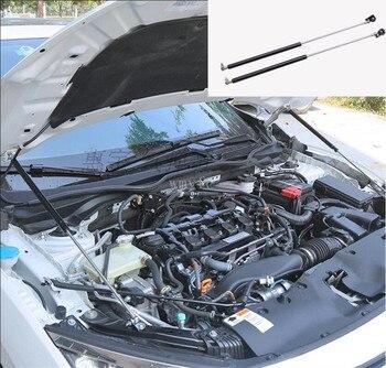 Coche capó del motor estancia Bar abierto Holden varilla de soporte Prop encaja para Honda Civic 2016 de 2017 estilo de coche accesorios 2 unids/set