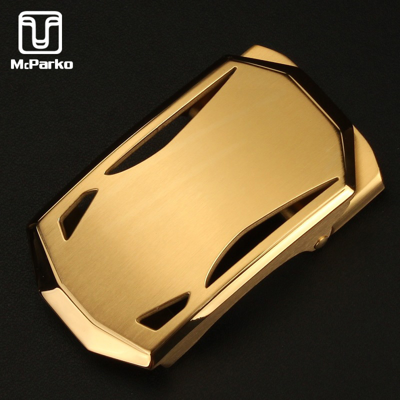 McParko Luxury Men Belt Buckles Automatic Stainless Steel Buckle Without Belt Casual Automatic Buckle 35mm High Quality Metal