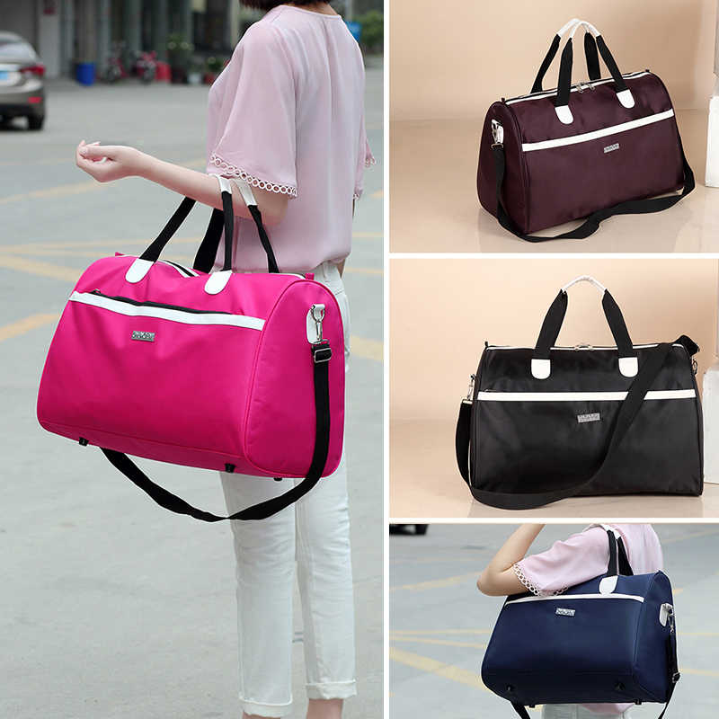 Wobag Women New Fashion Oxford WaterProof Travel Bag Tote bag Large Capacity Portable Luggage Men High Quality