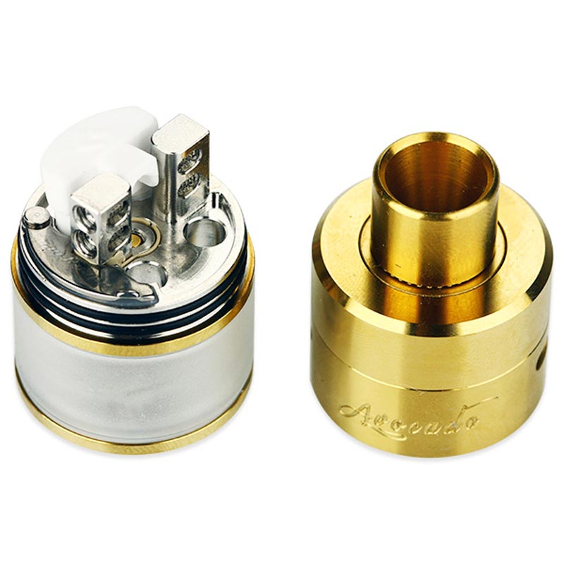 GeekVape Avocado 24 RDTA Atomizer Tank Rebuildable with Velocity Style Dual Post Deck Upgraded Version Electronic Cigarette Tank