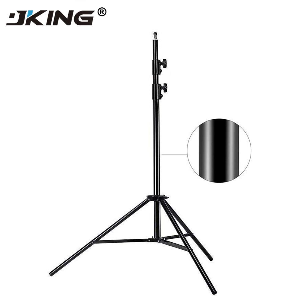 JKING 2M Light Stand Tripod Video With 1/4 Screw Head Bearing Weight 5KG For Camera Studio Softbox Flash Reflector Lighting