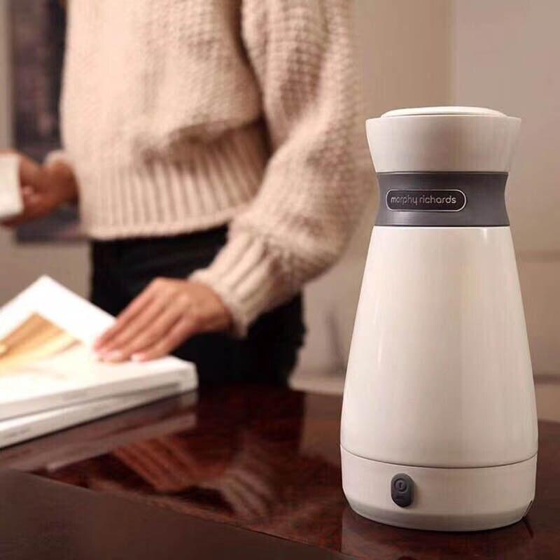 110-220V Portable multifonctionnel bouilloire électrique 316 théière en acier inoxydable voyage Mini tasse bouillante eau chaude tasse de chauffage 500ml