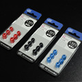 100% KZ Original 3Pair(6pcs) Black,Red,Blue 3 Colors Noise Isolating Comfortble Silicone Ear Tips For Headphones Earbud Earphone