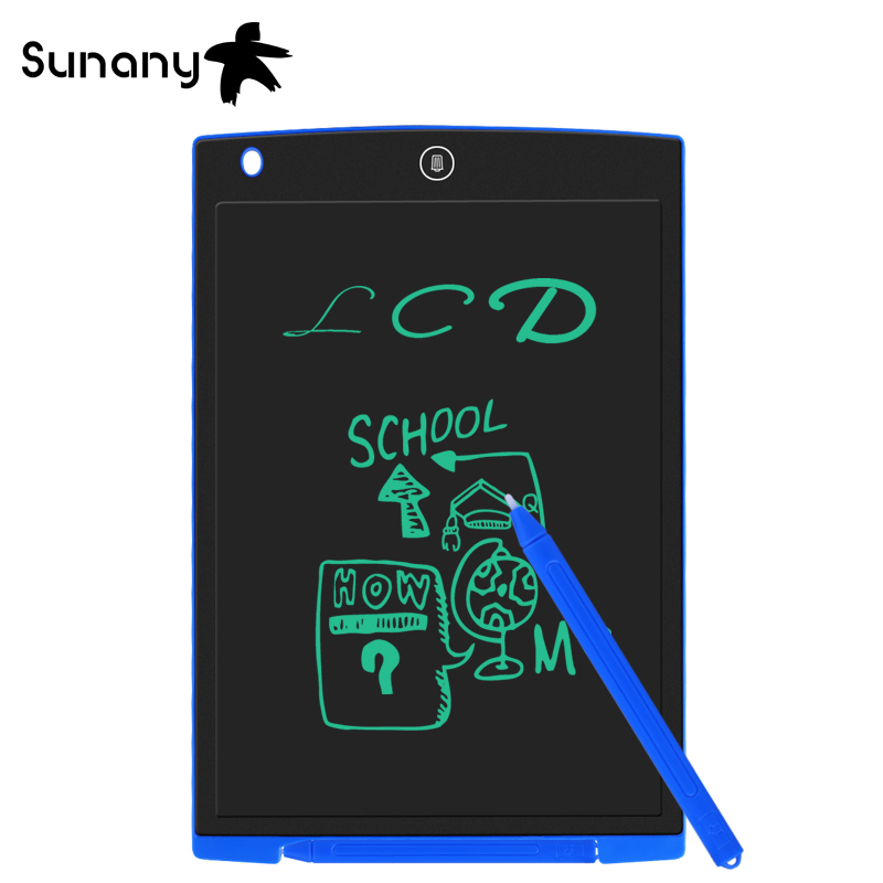 Sunany 12''Writing Tablet Message Graphics Board For Children And Adult LCD Digital Drawing Portable Ultra-thin Handwriting Pads