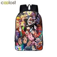 Cartoon Gravity Falls Backpack For Teenage Girls Children School Bags Dipper Mabel Backpack Kids Gravity Falls
