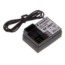 02071 AM 2 Channel HISPEED Receiver SP-3820 For HSP 1/10 RC Car 94101 94105 94108,For a variety of HSP models