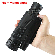 Buy Tactical Infrared Digital Night Vision Sight  Telescope Military Monocular HD Powerful Night-Vision Monocular Hunting Goggles