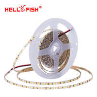 Tira de luces led CRI 90 5mm 2835 de alto brillo, tira de luces LED DC 12 V, tira flexible de luces led 5m 600 e iluminación Hello Fish