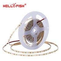 Wysoka jasność CRI 90 5mm 2835 dioda led strip światło DC 12V elastyczne światło pasek 5m 600 taśma led światła i oświetlenie Hello Fish w Taśmy i listwy LED od Lampy i oświetlenie na