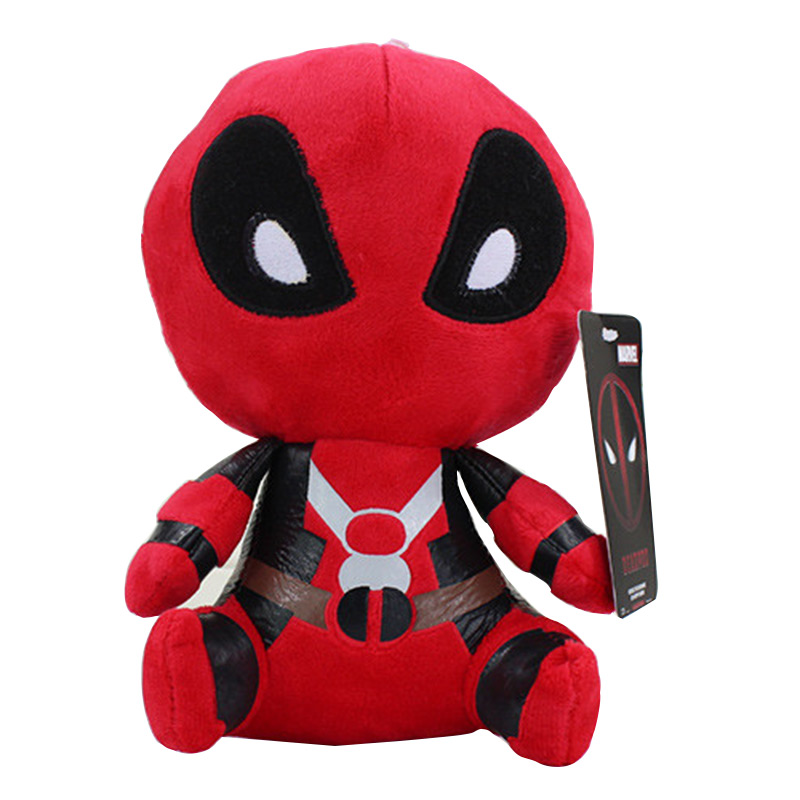 20cm Q Version X-men Deadpool Movie Action Figure Plush Toys Kids Toys