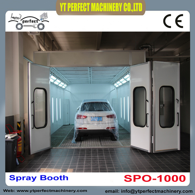 car paint for sale SPO 1000 car spray booth price used car paint booth for sale spray  car paint for sale