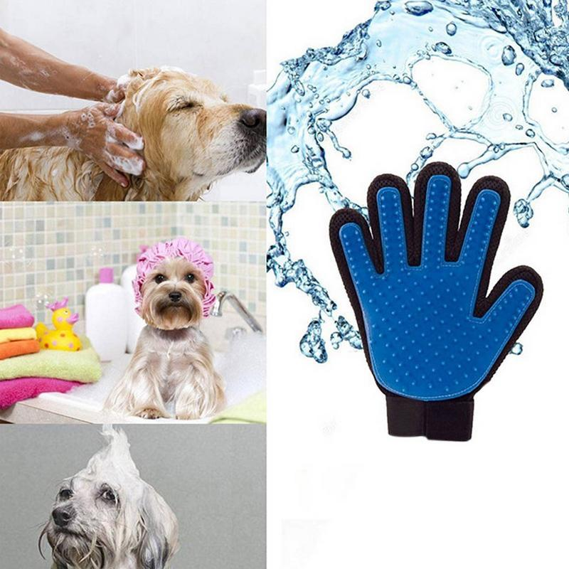Pet Hair Comb Bath Brush Gentle Cleaning Bath Massage Pet Grooming Dog Cat Supplies Pet Accessories