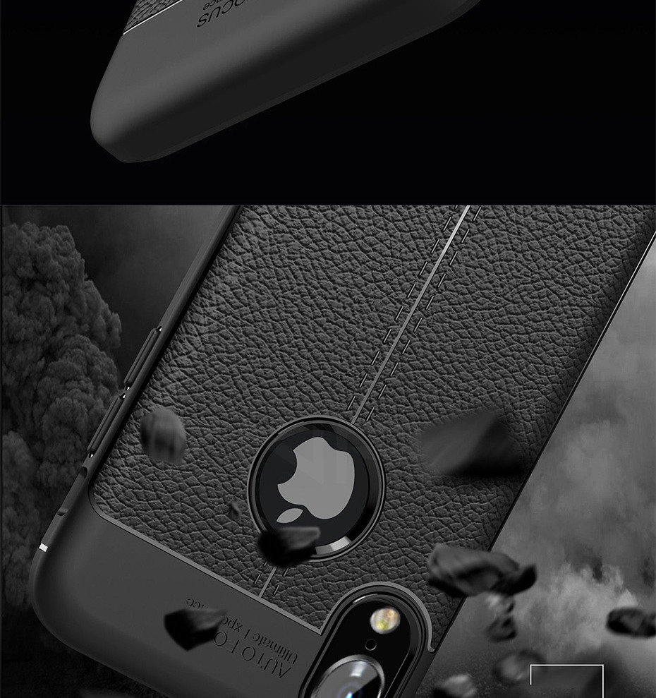 HTB1bL2OXfOzK1Rjt jJq6xFsVXaL - ZNP Luxury Shockproof Matte Cover For iPhone 6 7 8 Plus 6s Case Leather Carbon Fiber Leather For iPhone X XR XS Max Phone Case