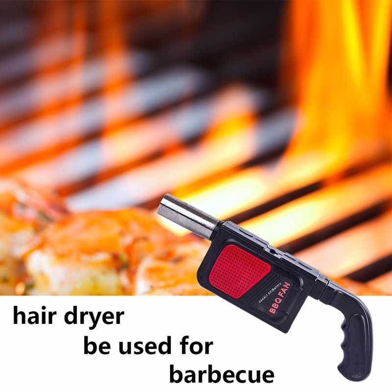 1 pc BBQ Blower Fan Air Blower For Barbecue Fire Outdoor Cooking Picnic Camping Kitchen Hand-Held Crank Tool Soplador