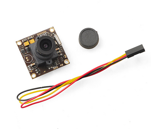 F18511 700TVL CCD FPV HD Camera 2.8mm Lens with 1/3″ 960H Exview HAD CCD II for DIY 250 Racing Quadcopter Drone FPV Photography
