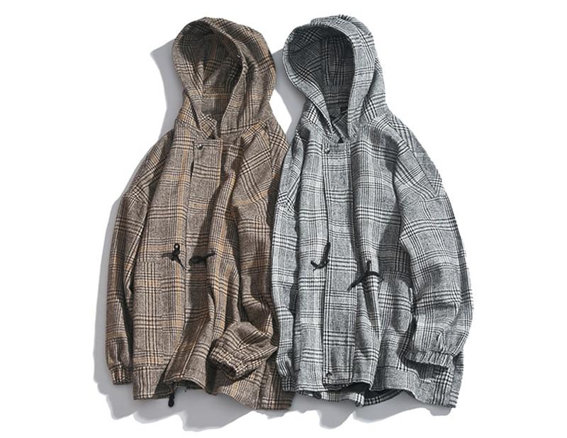 Male Long Coat Oversize Lapel Button Sobretodos Hombre Overcoat Streetwear (1)