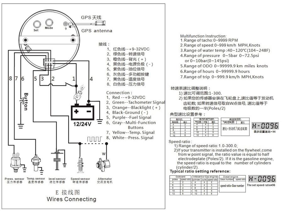 on gauge auto meter sdometer wiring diagram