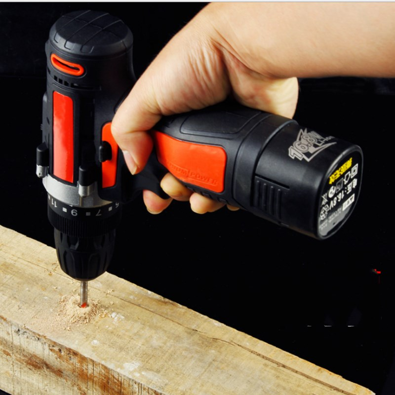 Lithium Electric Drill Charging Hand 12v Screwdriver Mini Household Combination Tool